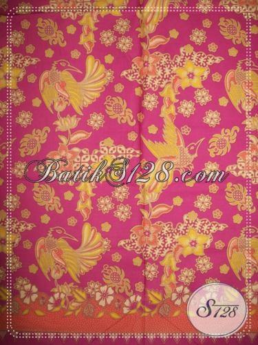 Bahan Batik Motif Floral Elegan [K1180P]