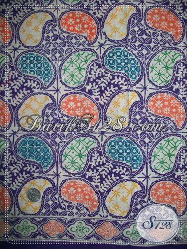 Kain Batik Solo Proses Cap Halus ,  Batik Bahan Busana Berkwalitas Motif Trendy Masa Kini