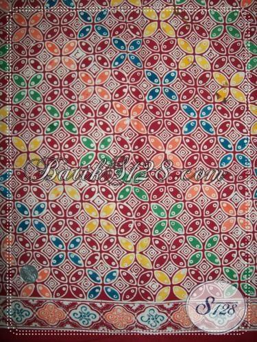 Bahan Batik Untuk Busana BAtik Kerja Wanita Modern [K1203C]