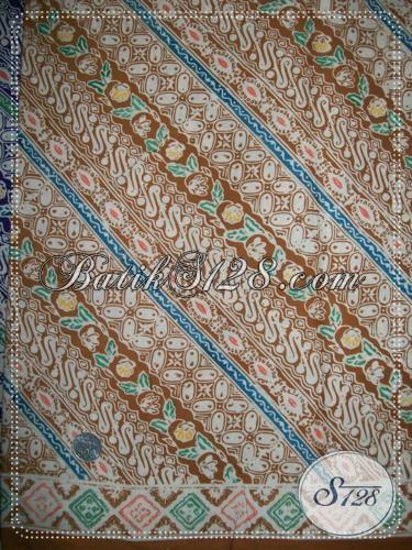 Batik Kain Bahan Busana Harga Terjangkau, Batik Solo Motif Liris Sangat Cocok Untuk Pakaian Kerja Pria Dan Wanita