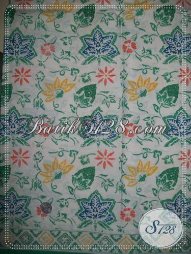 Batik Kain Asli Buatan Solo Jawa Tengah, Batik Trendy Eksklusive Bahan Busana Pria Maupun Wanita
