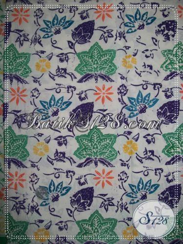 Motif Floral Untuk Kain Batik Masa Kini [K1225CD]