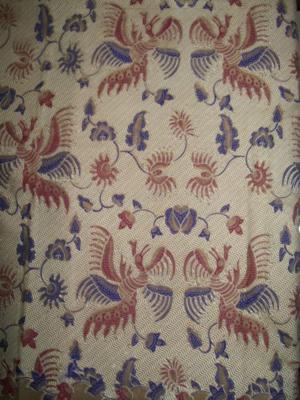 Jual Batik bahan Kemeja Pria Trendy, Batik Solo Motif Burung Hantu Bagus Dan Halus