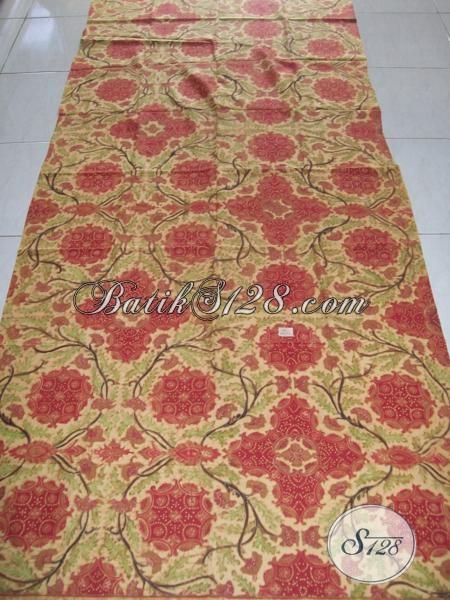 Batik Tulis Solo Asli Terbaru, Motif Bagus, Bahan Halus [K1308TGP]