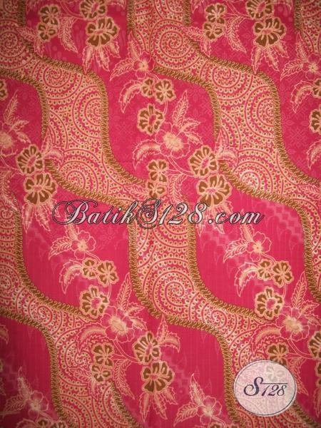 Pusat Kain Batik Solo Paling Up To Date, Jual Kain Batik Printing Motif Keren Bahan Seragam Wanita Muda Masa Kini