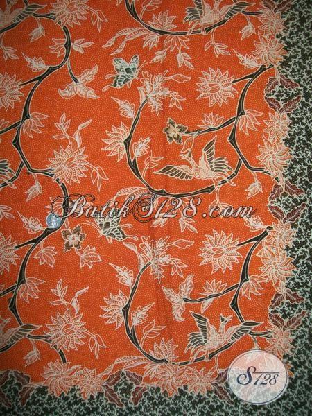 Jual Eceran Dan Grosir Kain Batik Kwalitas Bagus Asli Solo, Batik Bahan Dress  Cantik Dan Fashionable Untuk Wanita Muda