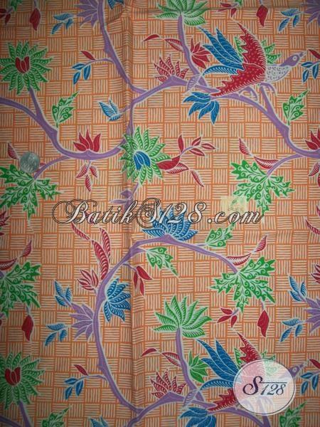 Pusat Online Batik Jawa Tengah Sedia Kain Batik Print Solo Motif