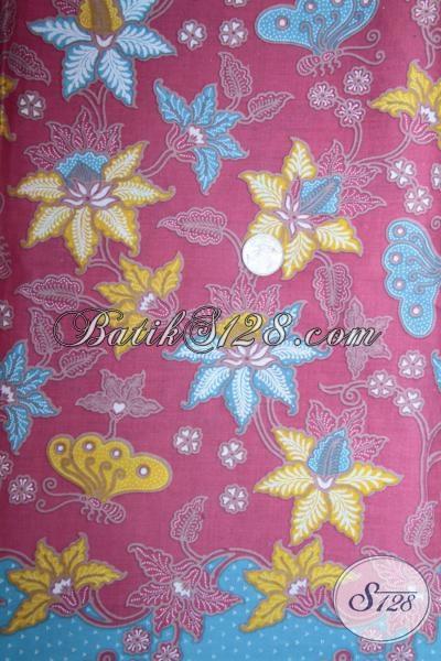 Batik Kain Bahan Dress Perempuan Muda Dan Remaja Masa Kini, Batik Printing Solo Murah Berkwalitas