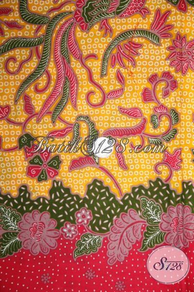 Kain Batik Motif Trendy Masa Kini, Cocok Untuk Pakaian Resmi Pria Dan Wanita Agar Tampil Lebih OKE