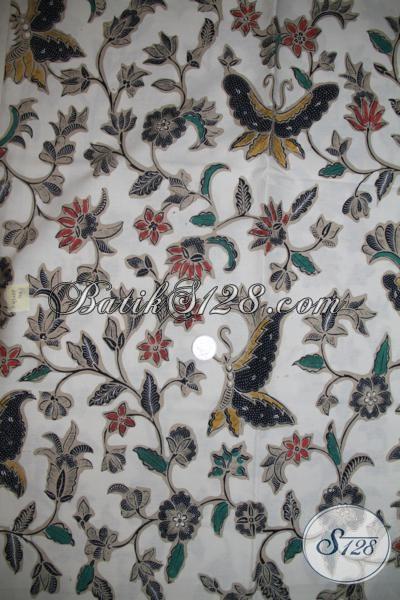 Batik Klasik Modern Asli Buatan Solo Jawa Tengah, Batik Kain Bahan Baju Kerja Perempuan Muda Modern Aktif Dan Smart [K1432BT]