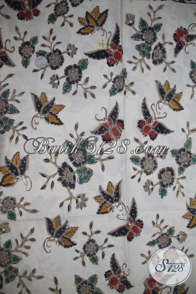 Kain Batik Asli Buatan Solo Indonesia, Batik Klasik Modern Cocok Untuk Blus Seragam Kerja