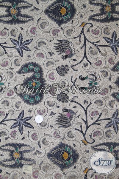 Kain Batik Kombinasi Tulis Dengan Motif Klasik Sentuhan Modern, Batik Bahan Pakaian Pria Resmi Trend Mode Terbaru