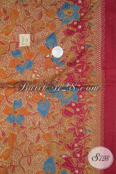 Pusat Belanja Online Kain Batik Mewah Harga Murah, Sedia Batik Printing Bahan Baju Trendy Hanya Rp 60.000,-