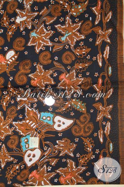 Kain Batik Lawasan Bahan Baju Tradisonal, Batik Klasik Bahan Pakaian Resmi Tampil Elegan [K1458P]