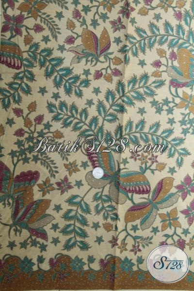Pusat Kain Batik Online Dengan Koleksi Terlengkap Dan Up To Date, Jual Batik Print Lasem Kwalitas Bagus Untuk Bahan Hem Dan Dress Trendy