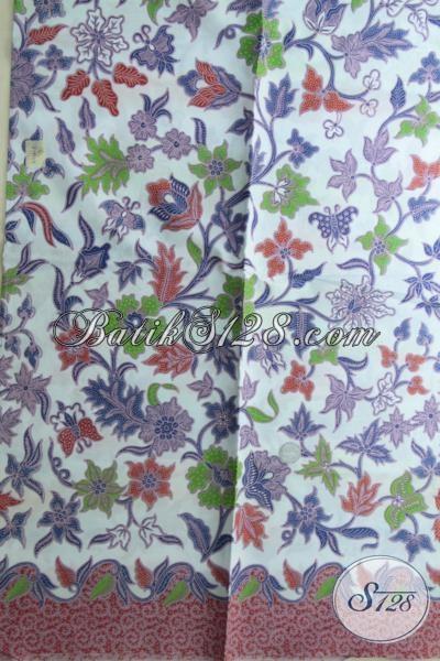 Jual Batik Kain Motif Terkini Modern Dan Fashinable, Cocok Untuk Bahan Busana Menyambut Lebaran Tahun Ini