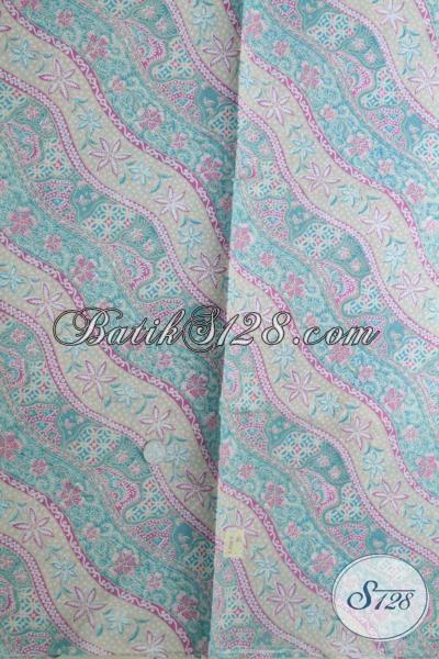 Koleksi Terbaru Toko Batik Online, Kain Batik Warna Soft Motif Unik Untuk Bahan Busana Pria Dan Wanita Dengan Kwalitas Bagus Hanya Rp 70.000,-