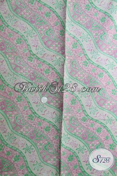 Jual Kain Batik Print Kwalitas Bagus Harg Murner, Batik Kain Warna Soft Untuk Pakaian Wanita Dan Pria Tampil Lebih Keren