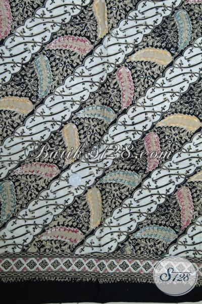 Kain Batik Modern Motif Parang Sentuhan Etnik Yang Menarik, Kain Batik Bahan Busana Trendy Dan Fashionable