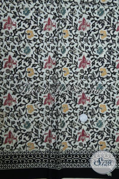 Jual Kain Batik Motif Unik Proses Cap Tulis, Batik Bagus Halus Trend Mode Saat Ini Cocok Untuk Bahan Blus Maupun Dress Keren