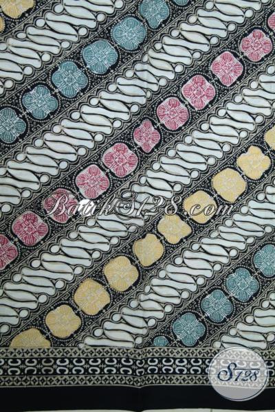 Batik Kain Bahan Baju Berkwalitas Proses Cap Tulis, Batik Solo Bagus Cocok Untuk Baju Blus Wanita Dan Kemeja Pria [K1492CT]