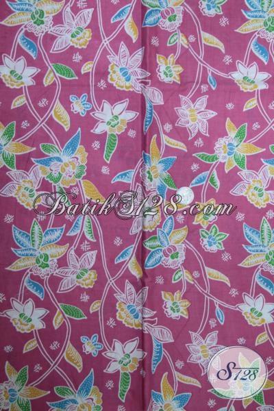 Toko Online Aneka Batik Jawa Khas Solo Jateng, Sedia Batik Pink Bahan Blus Dan Pakaian Wanita Lainnya Dengan Kwalitas Bagus Harga Murah [K1505P]