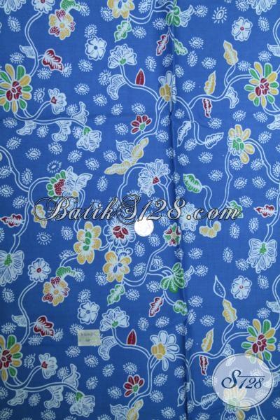 Pusat Penjualan Kain Batik Print Berkwalitas Harga Murah, Kain batik Masa Kini Bahan Blus Seragam kantir Wanita Karir