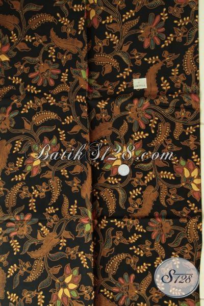 Pedagang Batik Online Paling Up To Date, Jual Batik Kain Kombinasi Tulis Untuk Busana Formal Dengan Motif Masa Kini