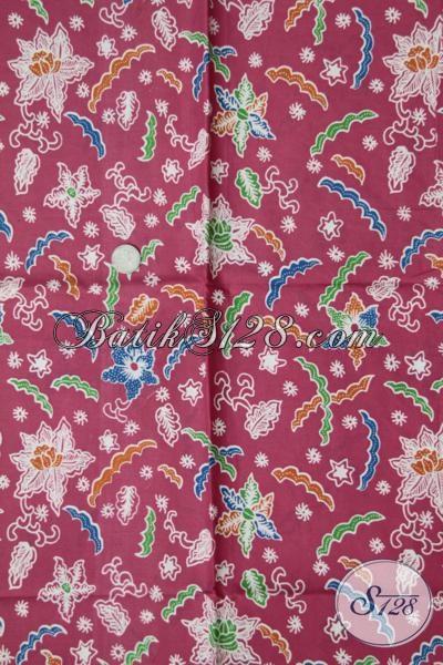 Batik Kain Bahan Busana Modern Dengan Kwalitas Bagus Halus Dan Adem Namun Harga Sangat Terjangkau