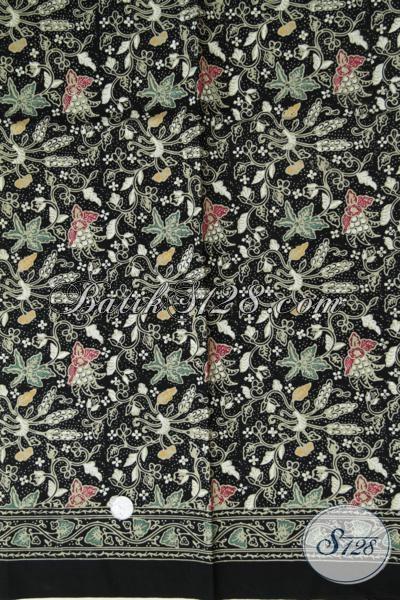 Jual Online Kain Batik Modern Proses Cap Tulis Untuk Bahan Baju Blus Maupun Kemeja, Batik Solo Kain Halus Adem Dan Tidak Luntur