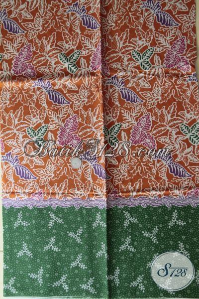 Batik Solo Motif Terbaru Cocok Untuk Bahan Pakaian Wanita Modern, Kain Batik Murah Kwalitas Mewah Bisa Untuk Blus Dress Maupun Rok