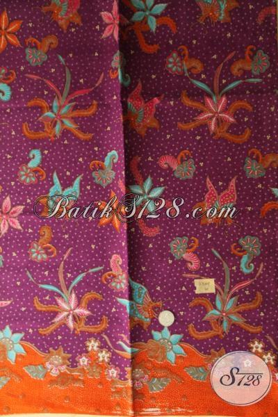 Eceran Harga Grosir Aneka Kain Batik Solo Bahan Pakaian Trendy, Batik Print Berkwalitas Asli Buatan Pengerajin Di Solo