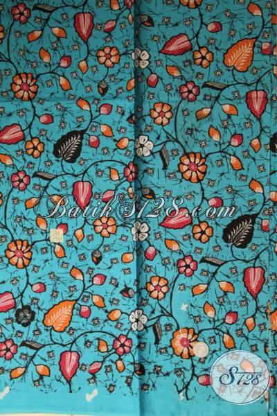 Kaian Batik Murah Asli Produk Solo Jateng, Batik Kain Print Bahan Pakaian Trend Wanita Dan Pria Tampil Ceria