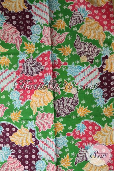 Grosir Eceran Aneka Kain Batik Bagus Harga Murah, Batik Print Bahan Aneka Busana Trendy Kwalitas Terjamin