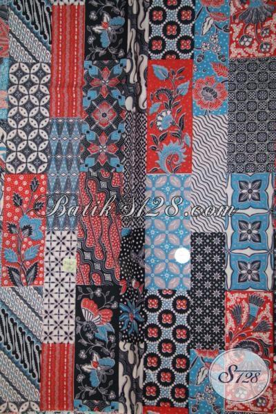 Kain Batik Murah Meriah  Dengan Kwalitas Bagus, Batik Printing Produk Asli Solo Motif Modern Untuk Busana Pria Dan Wanita Terkini