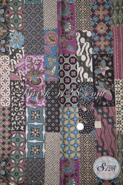 Kain Batik Motif Modern Dan Unik Harga Murmer, Batik Solo Proses Print Kwalitas Bagus Cocok Untuk Aneka Busana
