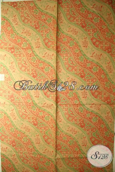 Batik Solo Bahan Pakaian Kerja Keren Dengan Motif Bagus Nan Mewah, Batik Masa Kini Proses Print Lasem Harga Lebih Terjangkau