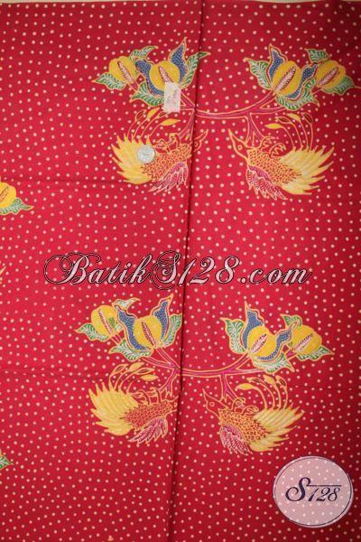 Kain Batik Tulis Motif Terbaru Tahun Ini, Batik Bahan Busana Pria Dan Wanita Kwalitas Premium Halus Dan Mewah [K1642T]