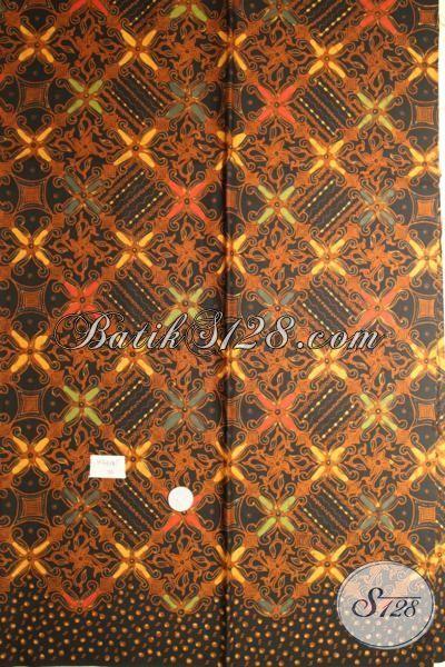 Aneka Batik Kain Klasik Solo Bahan Baju Formal Berkwalitas, Batik Kombinasi Tulis Cocok Untuk Seragam Kerja Yang Elegan