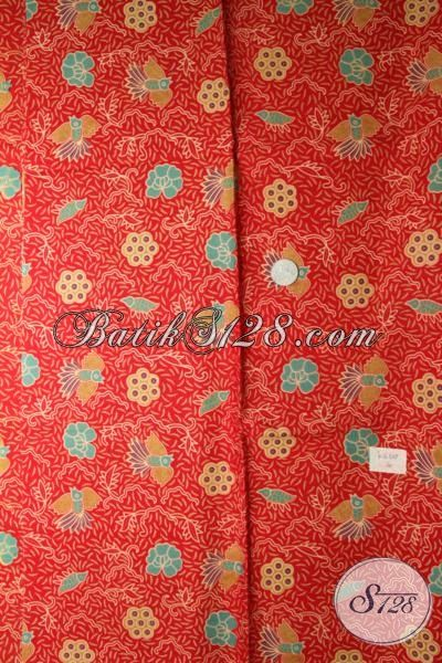 Jual Kain Batik Murah Kwalitas Mewah, Batik Bahan Pakaian Trendy Motif Unik Proses Print[K1652P]
