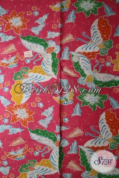 Pedagang Kain Batik Eceran Dan Grosir Online, Sedia Batik Print Bahan Pakaian Wanita Motif Trendy Pas Buat Blus Maupun Dress Istimewa