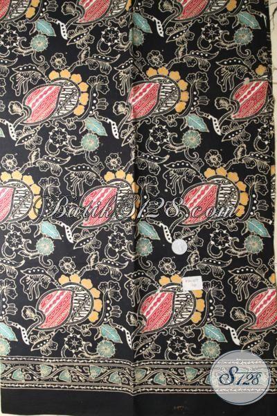 Jual Eceran Harga Grosir Kain Batik Cap Tulis Kwalitas Bagus Buatan Solo, batik Jawa Motif Modern Pasa Buat Anka Busana Perempuan