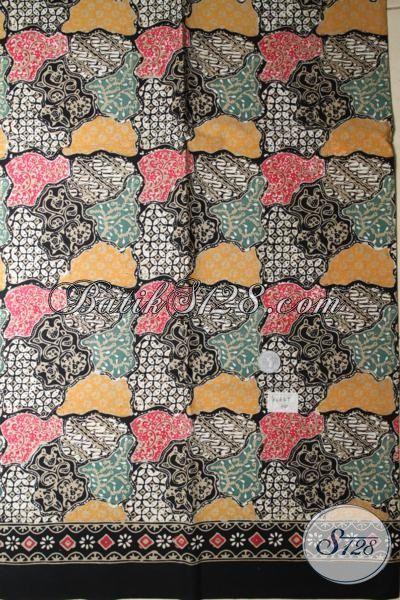 Kain Batik Bahan Kemeja Pria Dengan Motif Modern Trend Masa Kini, Batik Jawa Kwalitas Halus Proses Cap Tulis Harga Terjangkau