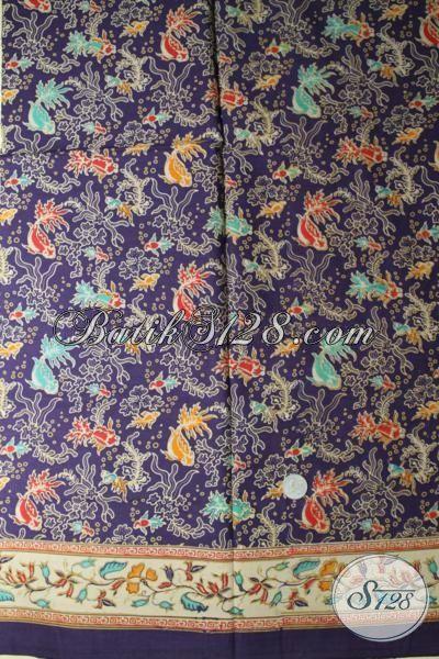 Kain Batik Print Motif Terbaru Saat Ini, Batik Solo motif Keren Pasa Buat Busana Kerja Dan Pesta Hadir Dengan Harga Murmer