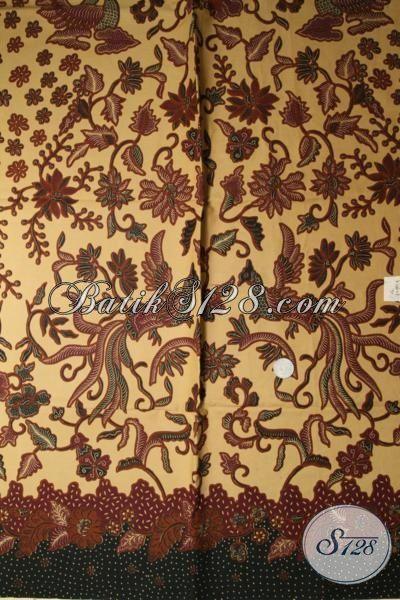 Online Shop Batik Solo Aneka Motif Terbaru, Sedia Kain Batik Trendy Motif Klasik Bisa Untuk Baju Formal Dan Santai [K1682P]