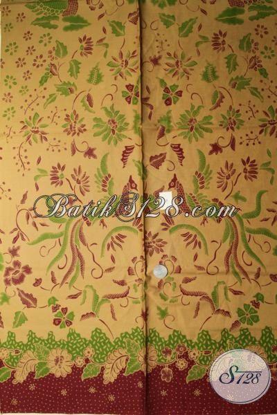 Jual Online Batik Kain Produk Solo Berkwalitas Halus Harga Murah Meriah, Batik Print Motif Terkini Pas Buat Baju Formal Dan Santai