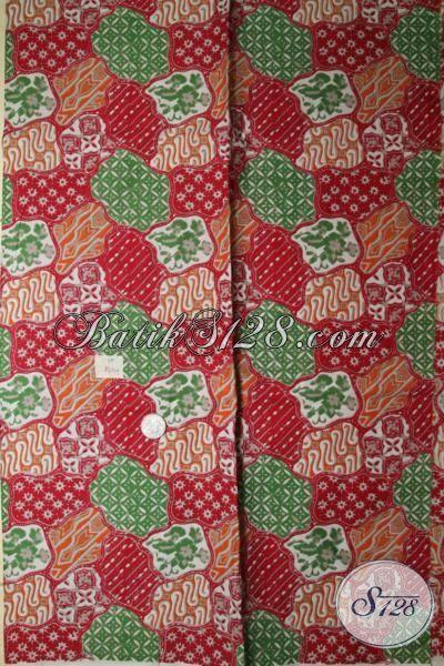 Kain Batik Print Halus Dan Adem Hadir Dengan Motif Unik Dan Gaul, Bisa Untuk Kemeja Pria Maupun Dress Batik Wanita Muda [K1691P]