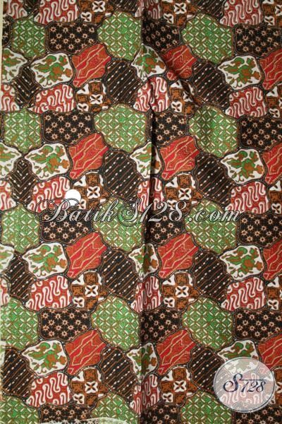 Jual Online Batik Jawa Modern, Batik Trendy Khas Solo Proses Print Dengan Motif Unik Cocok Untuk Pakaian Santai Dan Pesta [K1695P]