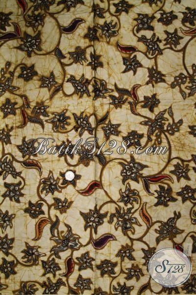 Jual Kain Batik Halus Motif Klasik Proses Kombinasi Tulis, Cocok Untuk Bahan Busana Formal Pria Dan Wanita Karir Aktif