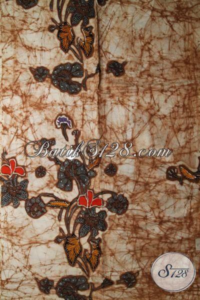 Jual Kain Batik Solo Motif Simple Tapi Keren, Batik Kain Bahan Pakaian Wanita Dan Pria Motif Terkini Berkwalitas Halus Dan Premium [K1697BT]